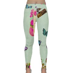 Collage Classic Yoga Leggings by 8fugoso