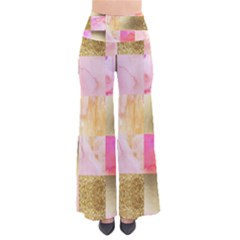 Collage Gold And Pink Pants by 8fugoso