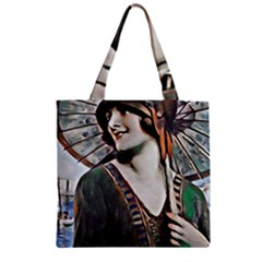 Gatsby Sommer Zipper Grocery Tote Bag by 8fugoso