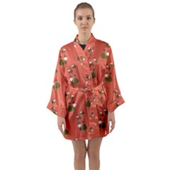 Dance Long Sleeve Kimono Robe by Celenk