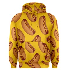Hot Dog Seamless Pattern Men s Pullover Hoodie by Celenk