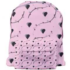 Love Hearth Pink Pattern Giant Full Print Backpack by Celenk