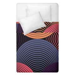 Geometric Swirls Duvet Cover Double Side (single Size)