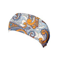 Paisley Pattern Yoga Headband