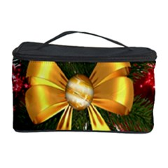 Christmas Star Winter Celebration Cosmetic Storage Case by Celenk