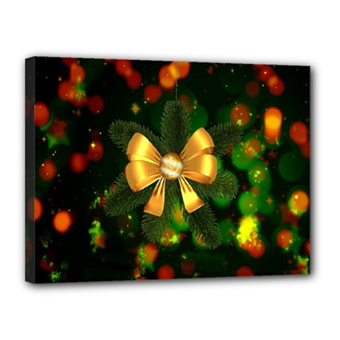 Christmas Celebration Tannenzweig Canvas 16  X 12  by Celenk