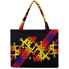 Board Conductors Circuits Mini Tote Bag by Celenk