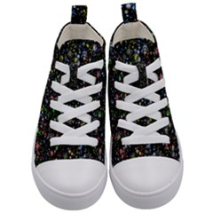 Universe Star Planet All Colorful Kid s Mid Top Canvas Sneakers