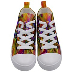 Arrangement Butterfly Aesthetics Kid s Mid-top Canvas Sneakers