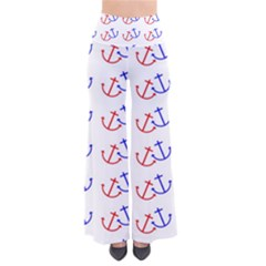 Anchors Nautical Backdrop Sea Nautical Pants