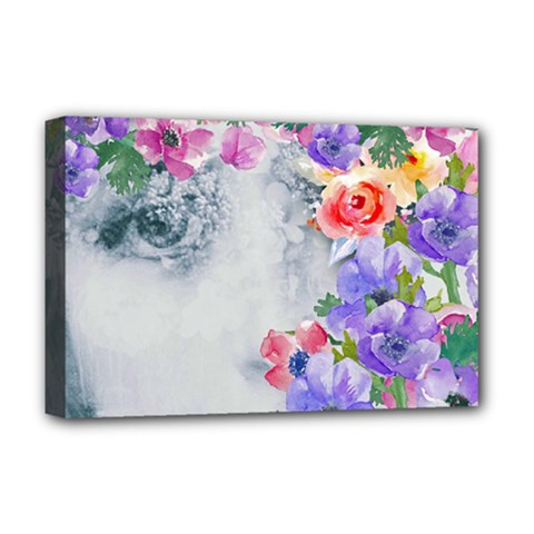 Flower Girl Deluxe Canvas 18  X 12   by 8fugoso