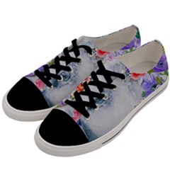 Flower Girl Men s Low Top Canvas Sneakers by 8fugoso