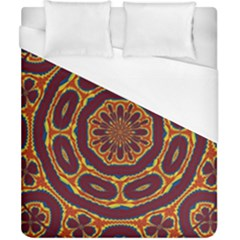 Geometric Tapestry Duvet Cover (california King Size) by linceazul