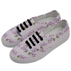 Floral Pattern Men s Classic Low Top Sneakers by SuperPatterns