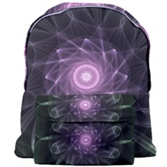 Mandala Fractal Light Light Fractal Giant Full Print Backpack by Celenk
