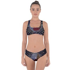 Whole Complete Human Qualities Criss Cross Bikini Set by Celenk