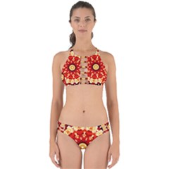 Abstract Art Abstract Background Perfectly Cut Out Bikini Set