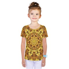 Abstract Antique Art Background Kids  One Piece Tee by Celenk