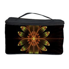 Fractal Floral Mandala Abstract Cosmetic Storage Case by Celenk