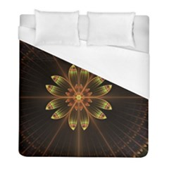Fractal Floral Mandala Abstract Duvet Cover (full/ Double Size)