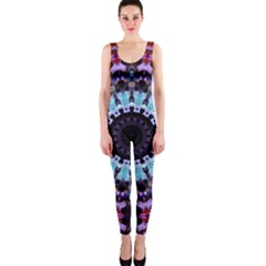 Kaleidoscope Shape Abstract Design Onepiece Catsuit