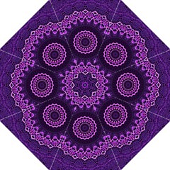 Mandala Purple Mandalas Balance Straight Umbrellas by Celenk