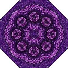 Mandala Purple Mandalas Balance Hook Handle Umbrellas (small)