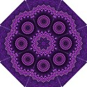 Mandala Purple Mandalas Balance Hook Handle Umbrellas (Small) View1