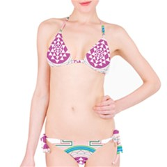 Mandala Design Arts Indian Bikini Set