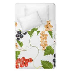 Juicy Currants Duvet Cover Double Side (single Size) by TKKdesignsCo