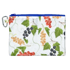 Juicy Currants Canvas Cosmetic Bag (xl)