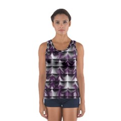 Background Texture Pattern Sport Tank Top  by Celenk