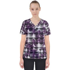 Background Texture Pattern Scrub Top by Celenk