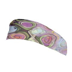 Retro Background Colorful Hippie Stretchable Headband