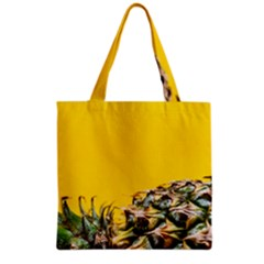 Pineapple Raw Sweet Tropical Food Grocery Tote Bag by Celenk