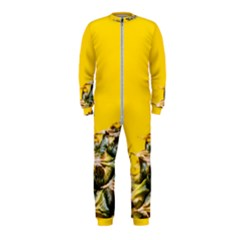 Pineapple Raw Sweet Tropical Food Onepiece Jumpsuit (kids)