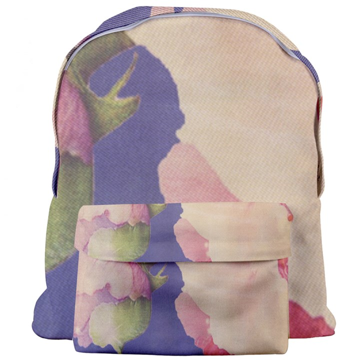 Fabric Textile Abstract Pattern Giant Full Print Backpack