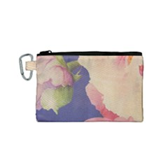 Fabric Textile Abstract Pattern Canvas Cosmetic Bag (small) by Celenk