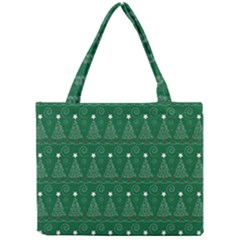 Christmas Tree Holiday Star Mini Tote Bag by Celenk