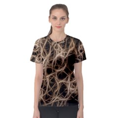 Structure Background Pattern Women s Sport Mesh Tee