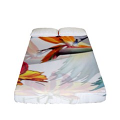 Birds Of Paradise Fitted Sheet (full/ Double Size) by TKKdesignsCo