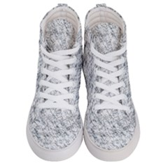Pattern Background Old Wall Women s Hi Top Skate Sneakers