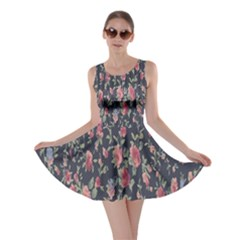 Pattern Flowers Pattern Flowers Skater Dress