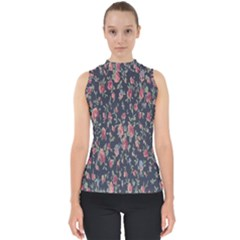 Pattern Flowers Pattern Flowers Shell Top