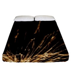 Background Abstract Structure Fitted Sheet (king Size) by Celenk