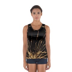 Background Abstract Structure Sport Tank Top