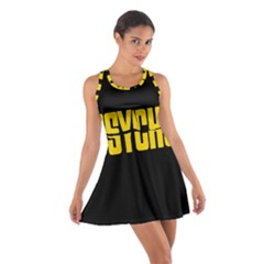 Psycho  Cotton Racerback Dress by Valentinaart