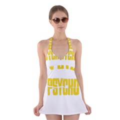 Psycho  Halter Dress Swimsuit