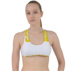 Psycho  Criss Cross Racerback Sports Bra