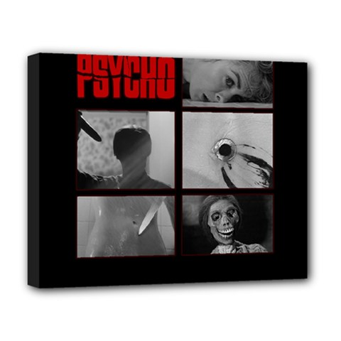 Psycho  Deluxe Canvas 20  X 16